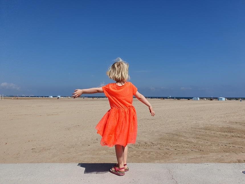 Valencia met kinderen - Playa Las Arenas