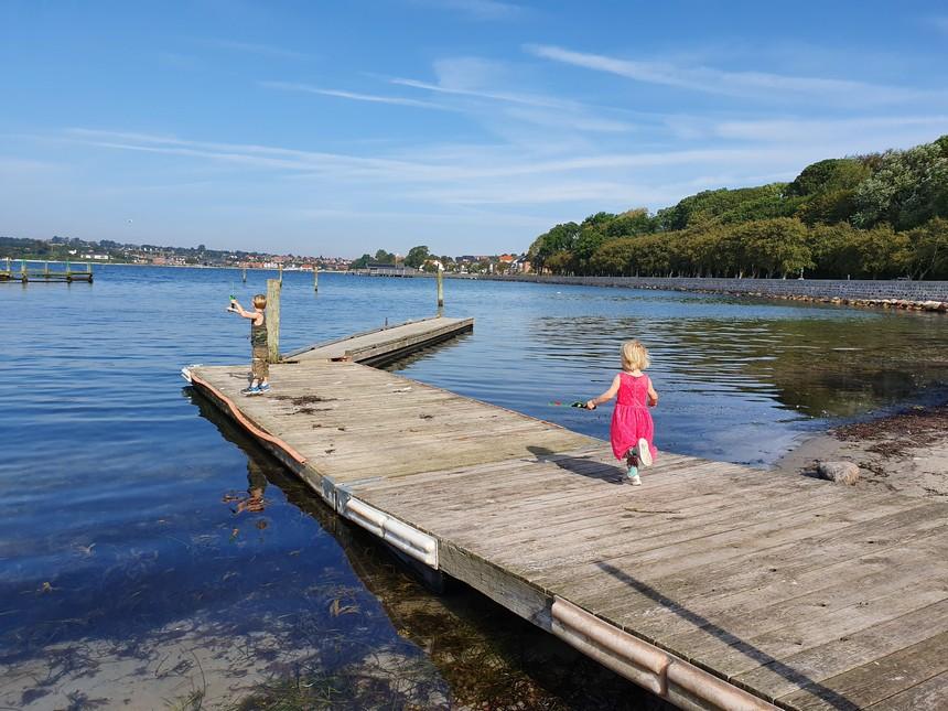 Sønderborg jachthaven - kids tips Denemarken: krabben vangen