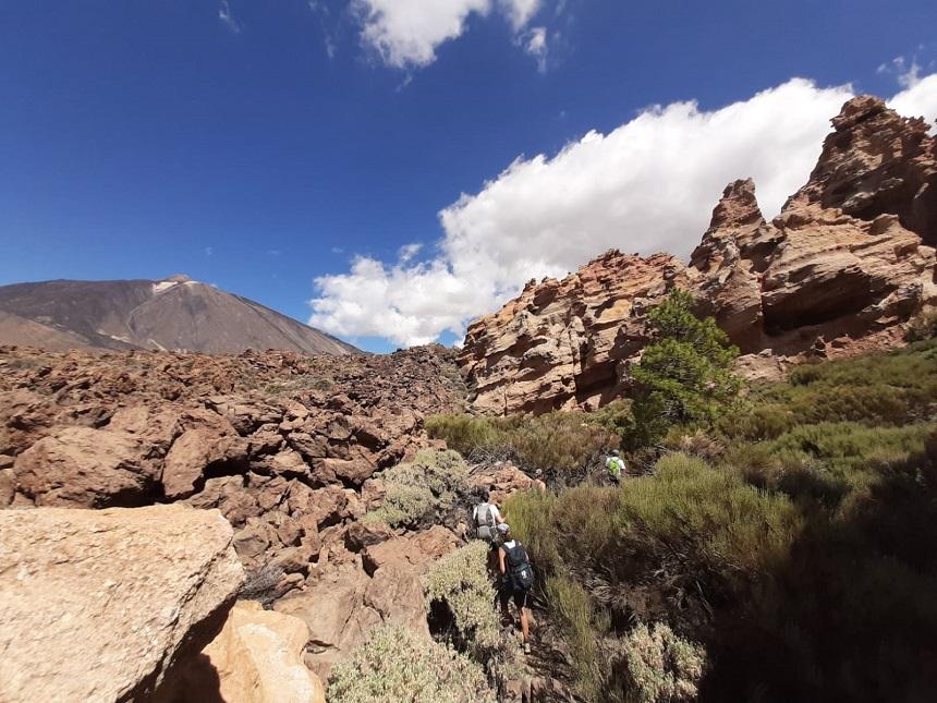 wandelroute El Teide Tenerife
