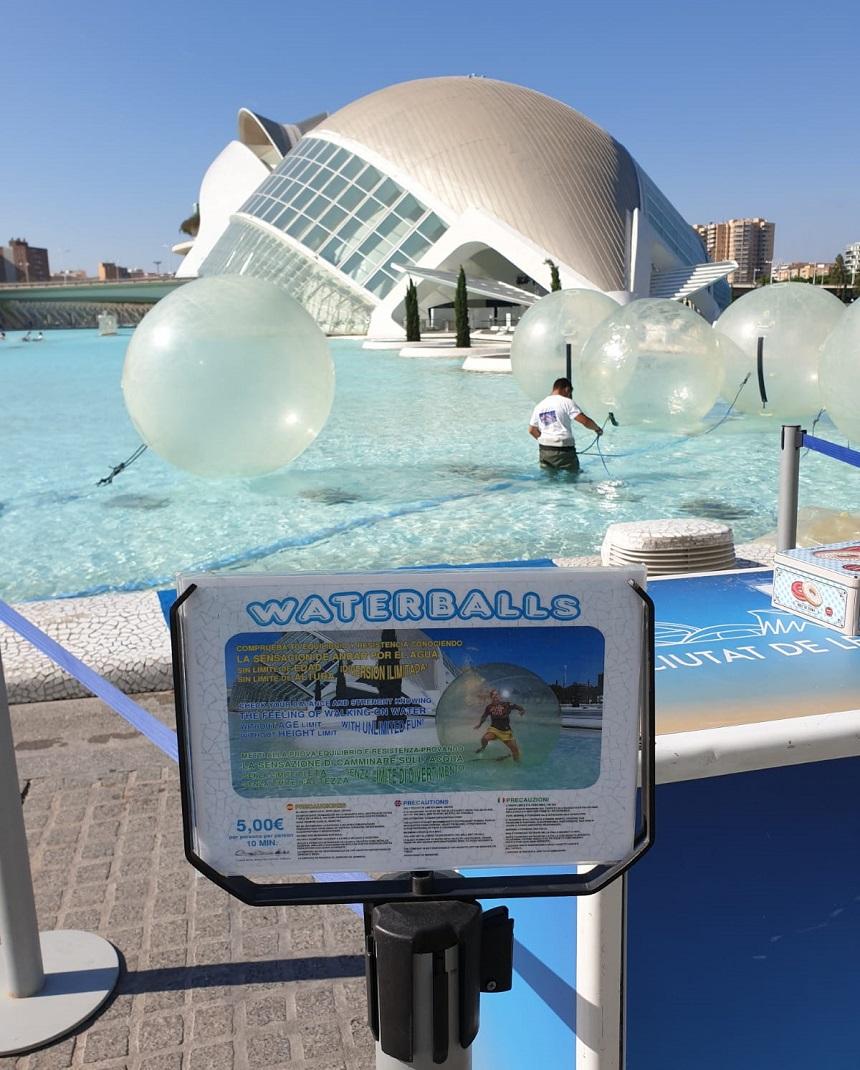 Waterballs Valencia