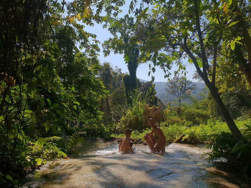 Sticky Bua Tong Waterfalls Chiang Mai