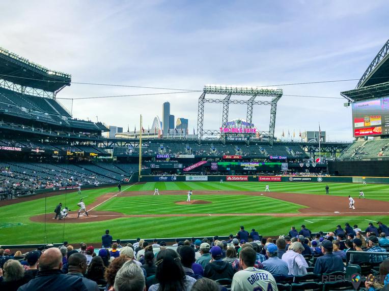 De Seattle Mariners spelen in het T-Mobile Park