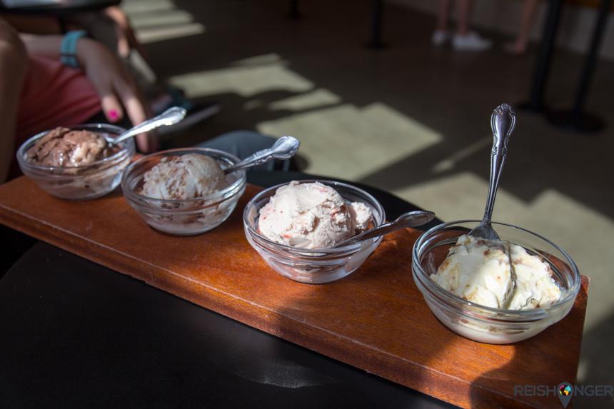 Exotische smaken zijn het handelsmerk van Salt and Straw