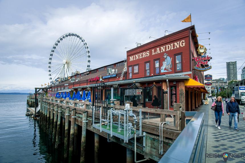 Seattle Great Wheel - Pier 57 Miners Landing