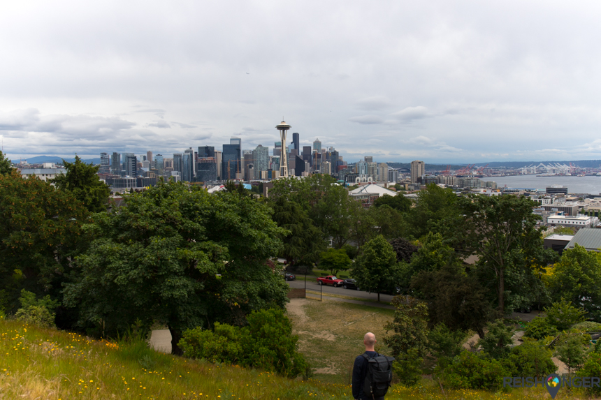 Skyline Seattle vanaf Kerry Park