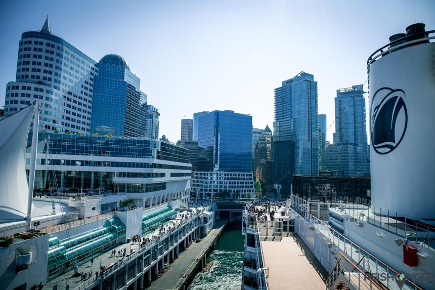 Afvaart Nieuw Amsterdam Vancouver