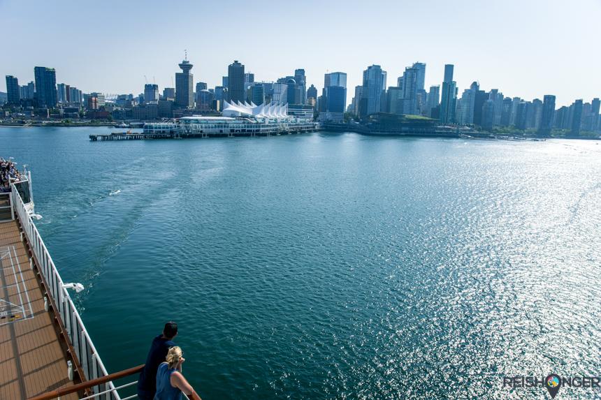 Dag Vancouver, op naar Alaska
