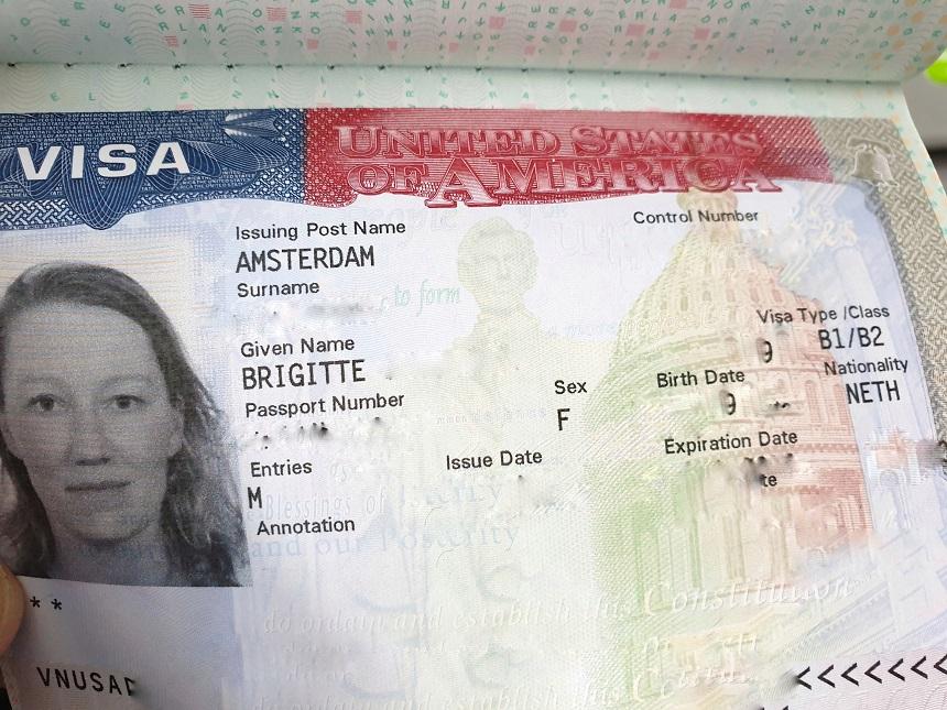 Visum Amerika B1/B2 aanvragen