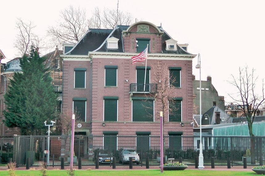 Amerikaans Consulaat Museumplein voor B1/B2 visum