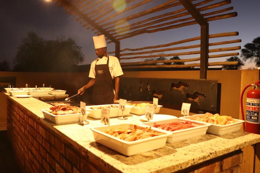 Op en top Afrikaans: een braai met game meat