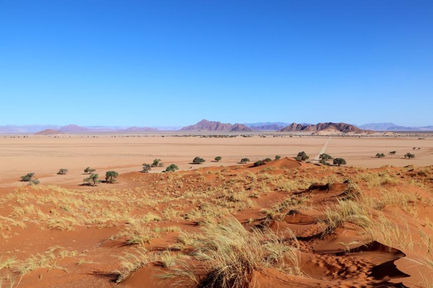 Bezoek tijdens je rondreis Namibie en Botswana sowieso de Sossusvlei