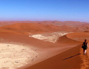 Beleef de magische woestijn van Namibië, 4x anders