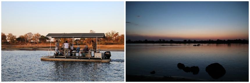 Boottocht over de Okavango rivier
