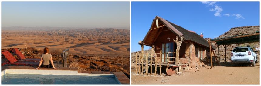Namib's Valley of a Thousand Hills heeft een fantastische ligging in de Namibwoestijn
