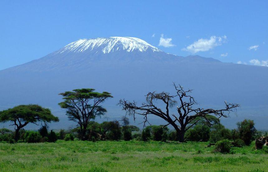 De Kilimanjaro is de hoogste berg van Afrika