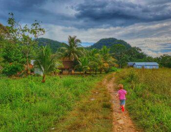 Belize met kinderen