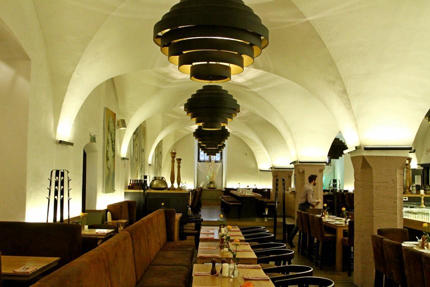 Het ondergrondse restaurant Bullerjahn in Göttingen