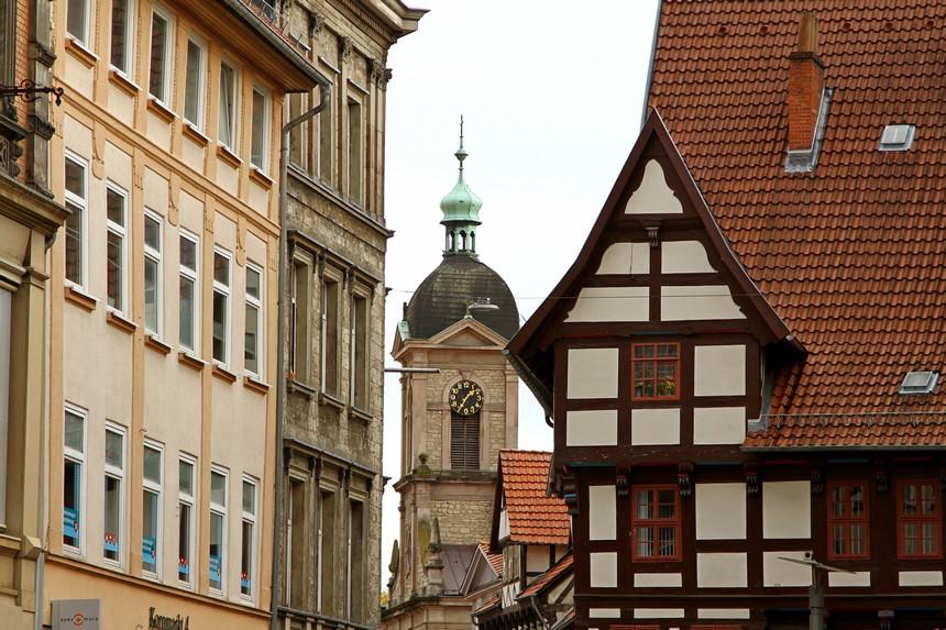 Göttingen - sfeerbeeld centrum