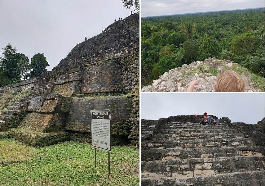 De Hoge Tempel (Structure N10-43) - High Temple Lamanai