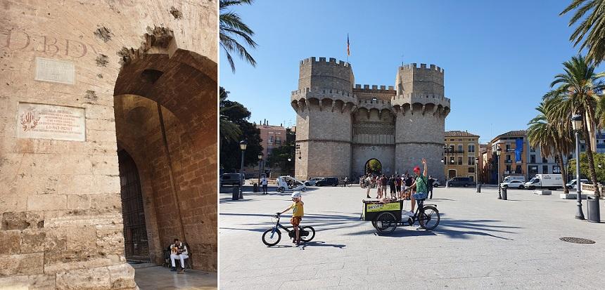 Torres de Quart en Torres de Serranos
