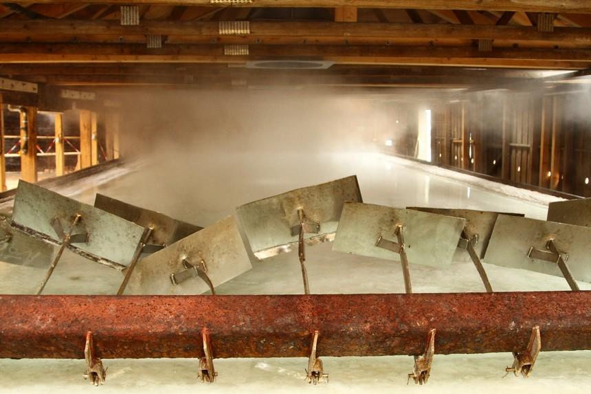 Een 'zwembad' vol sole - zout water