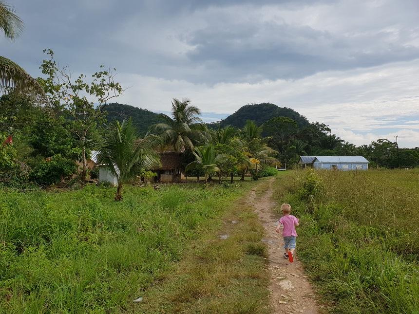 Het zuiden van Belize is het niet-toeristische deel van Belize
