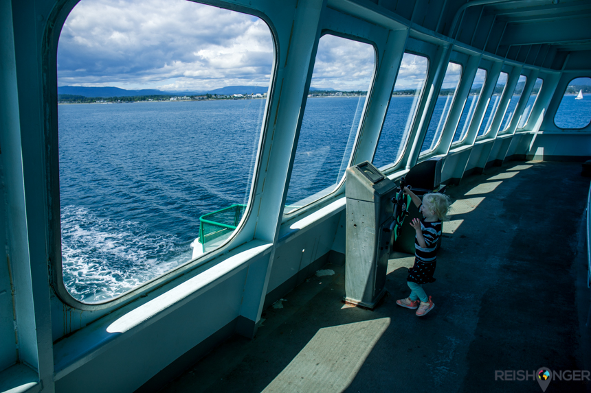 Ferry overtocht van Port Angeles naar Victoria