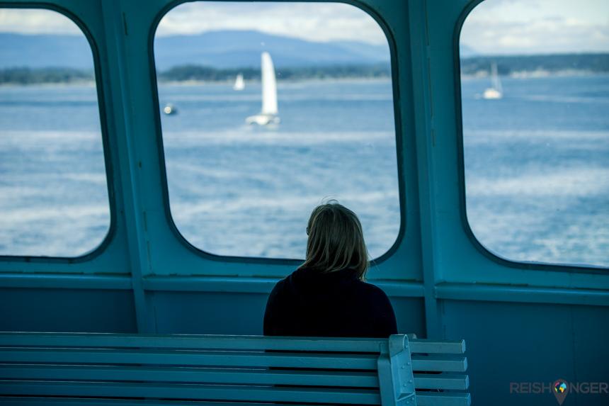 Ferry overtocht van Sidney naar de San Juan eilanden
