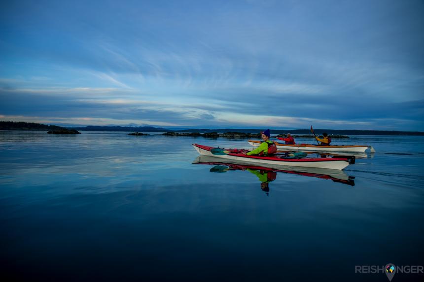 Sunset tour kayak San Juan
