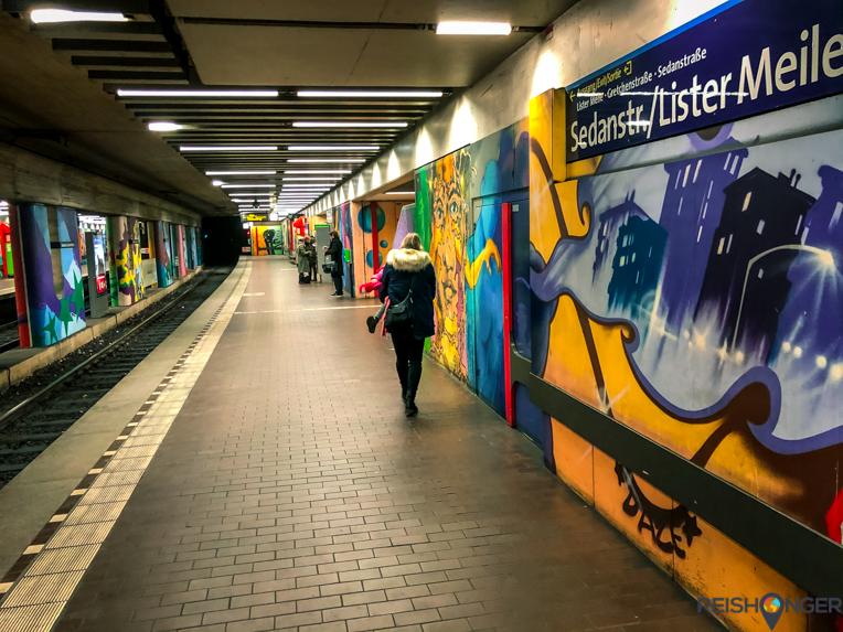 Kröpcke is het U-bahn station midden in het centrum