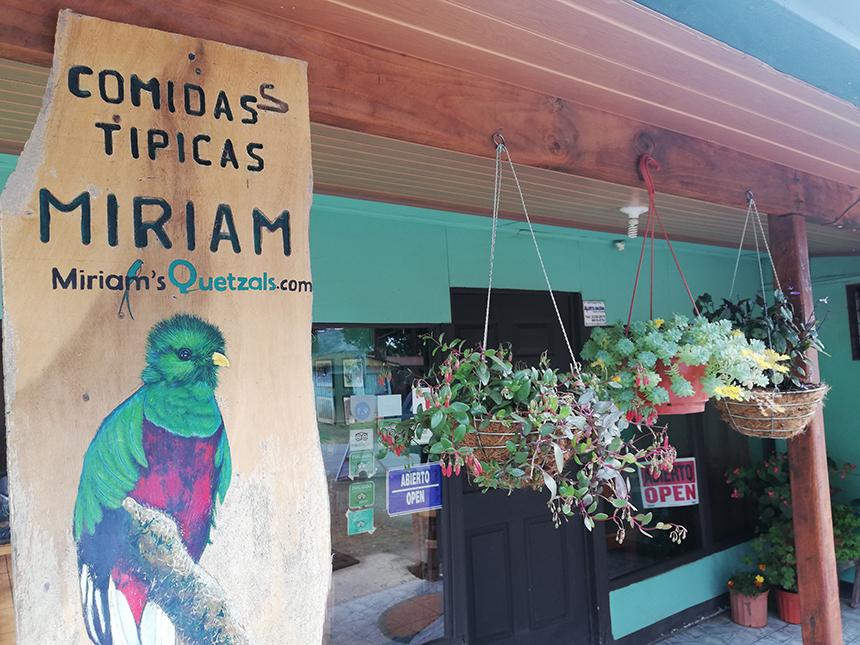 Miriam's Quetzales, San Gerardo de Dota