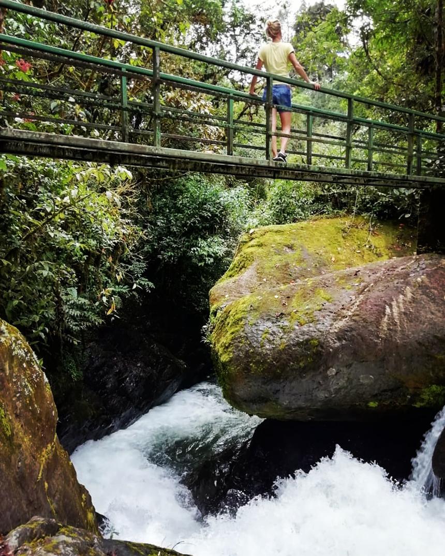 Hiking trails, San Gerardo de Dota