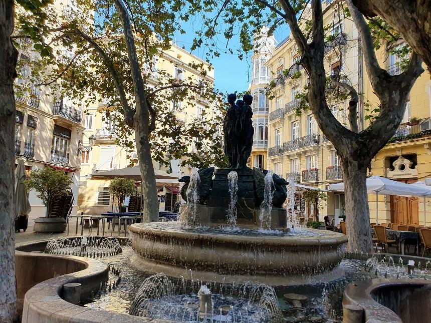 Geheimtip: Plaza de Rodrigo Botet in historisch Valencia