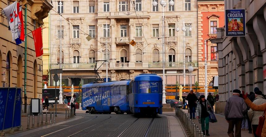 In Zagreb gaan oud en moderne hand in hand.