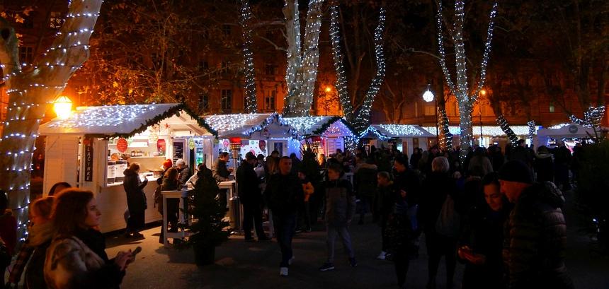 In de adventtijd is Zagreb één grote ontspannen kerstmarkt.