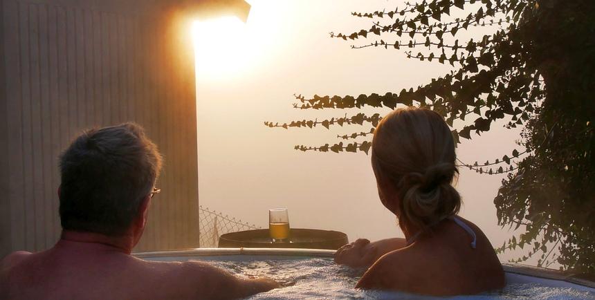 In het achterland van Zagreb zijn veel spa's, kuuroorden en thermale bronnen.