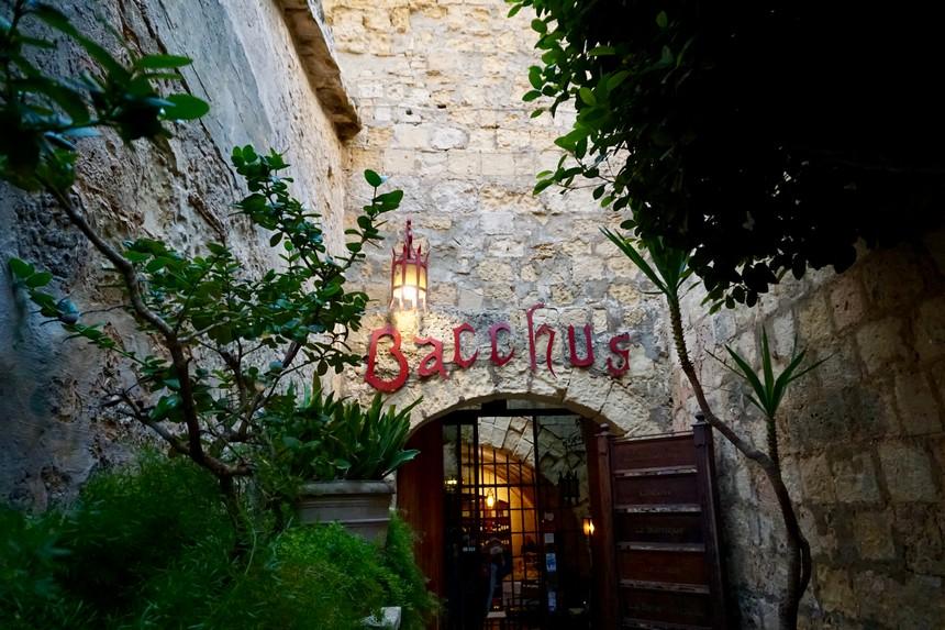 Restaurant Bacchus Malta