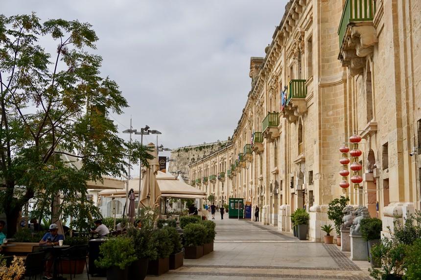 boulevard Valletta