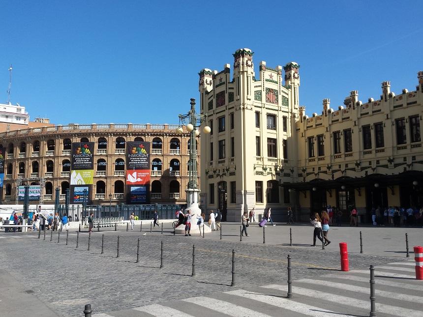 Estación del Nord en Plaza del Toros