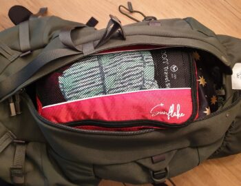 Review Sunflake packing cubes