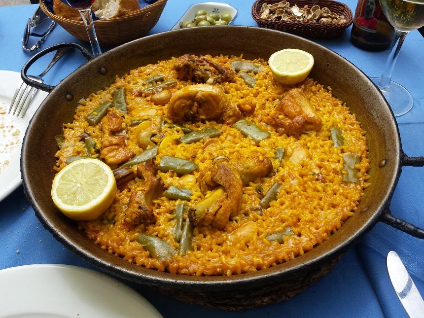 De traditionele Paella Valenciana