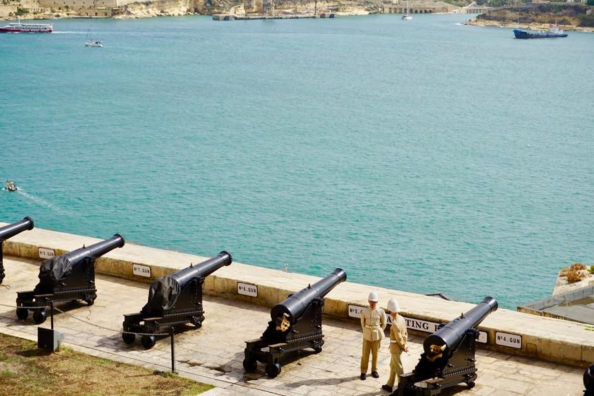 The Saluting Battery Malta