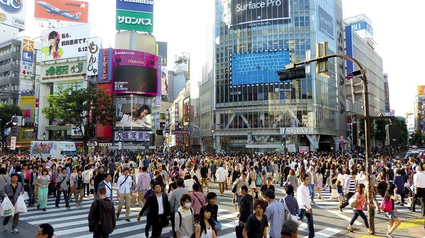 Shibuya Crossing - het drukste kruispunt ter wereld