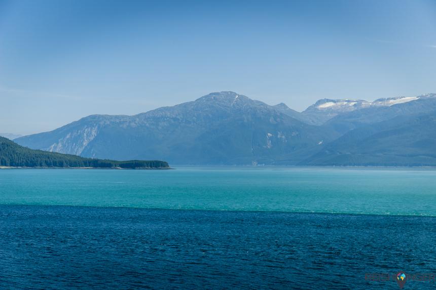 De Inside Passage is de vaarroute die de meeste cruiseschepen op weg naar Alaska nemen