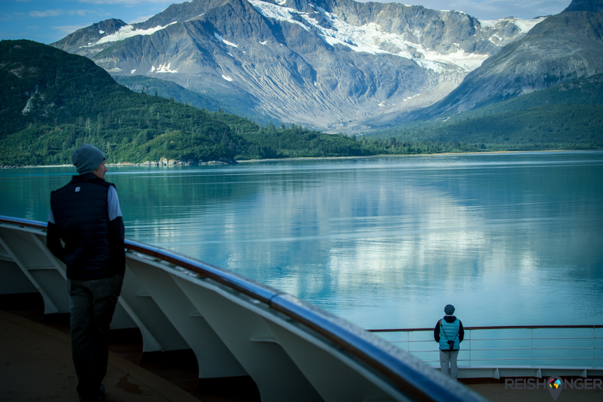 via de Inside Passage naar Glacier Bay
