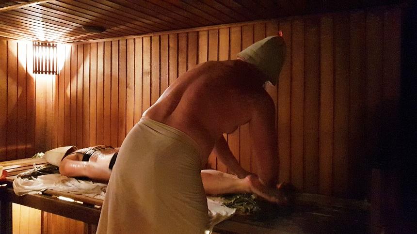 Russisch banja ritueel