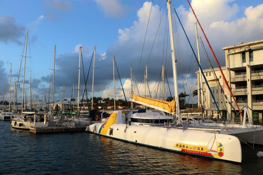 Boten genoeg op Guadeloupe!