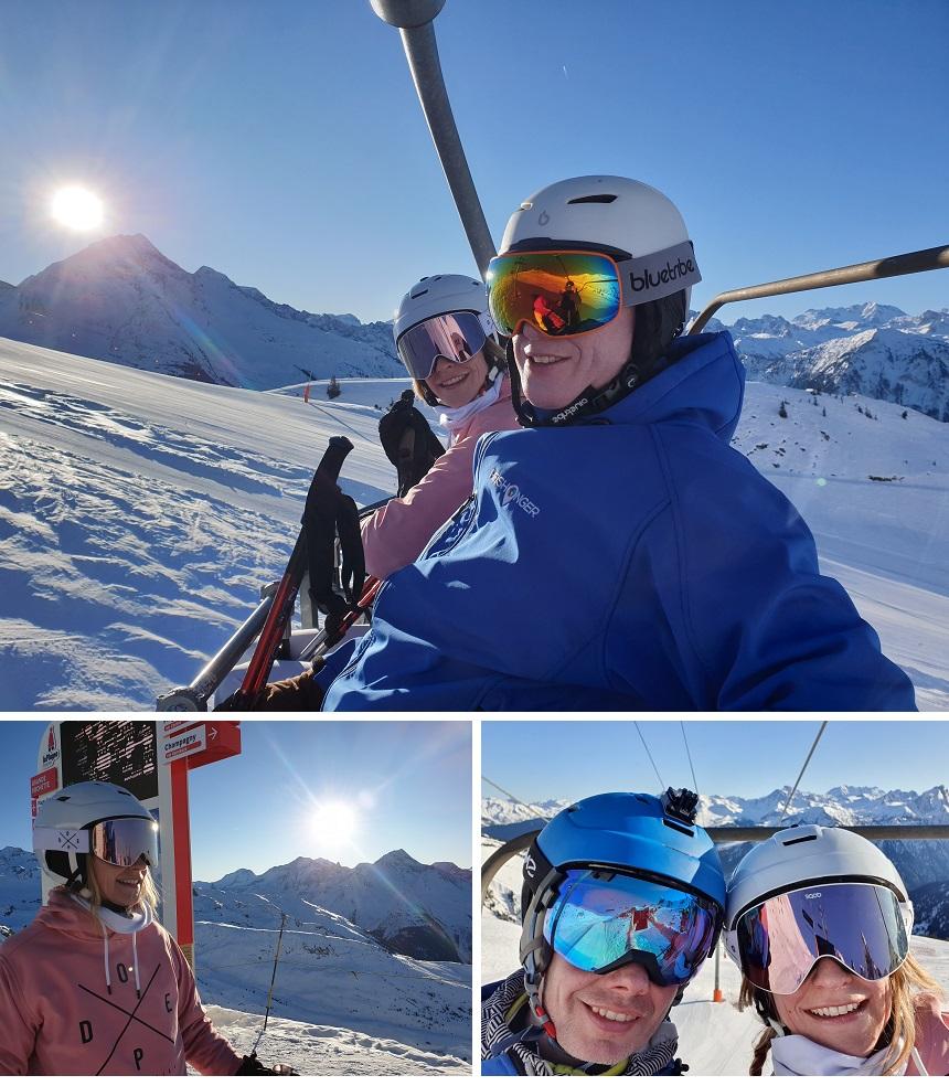 Frankrijk wintersporten
