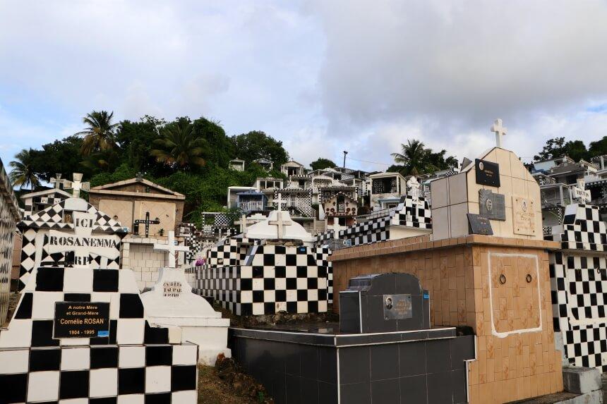 Reisroute Guadeloupe: bezoek de begraafplaats Morne-a-l'eau