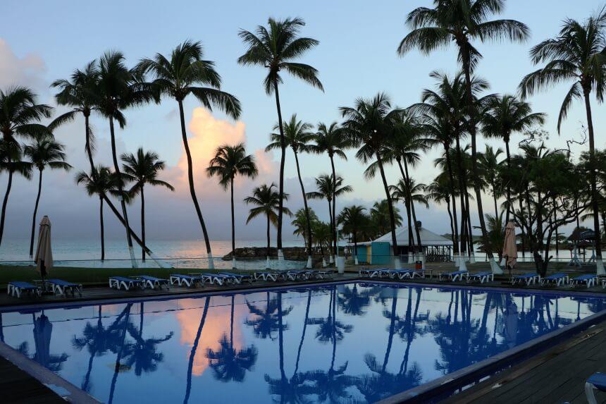 Guadeloupe heeft ideaal vakantieweer, het hele jaar door